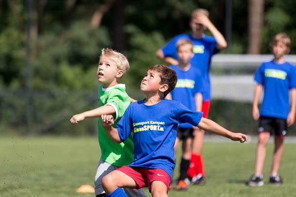 Voetbal dagkamp